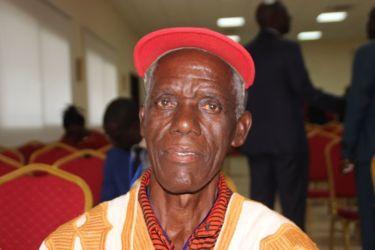 Dré Pohosson Honoré, chef de tere du village de Yaoudé (Guiglo)