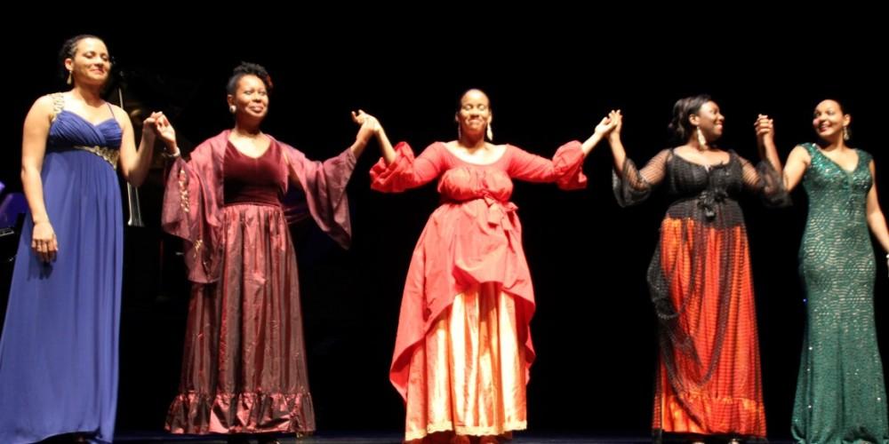 Musiciennes en Guadeloupe