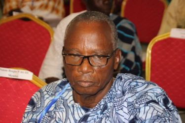 Kouassi Ndri, représentant la Reine des Baoulés, Sakassou