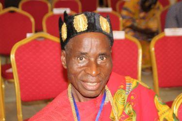 Nanan Dodo, chef du village de Dodokoi (Akoupé-Adzopé)