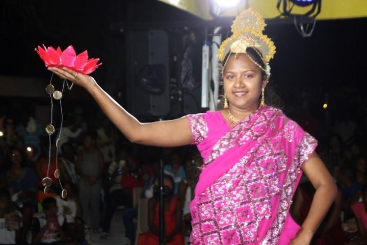 DANSE « NATARAJA » AU 29è FESTIVAL DE GWOKA DE SAINTE ANNE