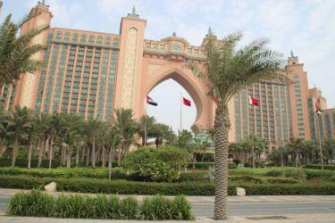 Atlantis Hôtel, Île Palm Jumeirah