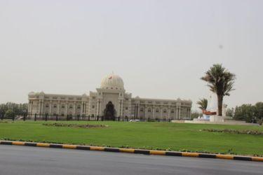 Charjah, place centrale