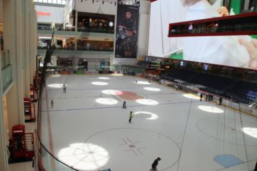 Dubaï Mall, patinoire