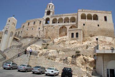 Notre Dame de Sadnaya, à 30 km de Damas
