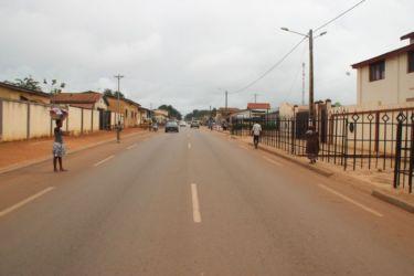 Une rue d'Abengourou