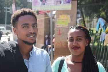 Dans les rues d'Addis