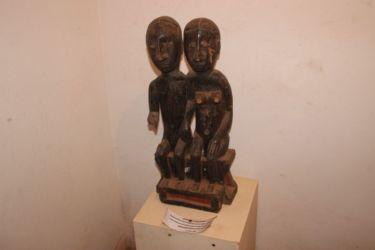 Statuette couple Akan, Côte d'Ivoire