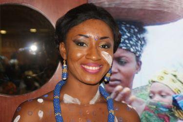 Jeune fille Adjoukrou