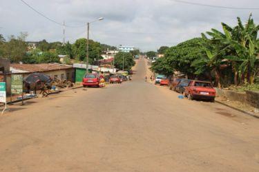 Une rue de Dabou