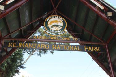 2-Entrée du Parc de Kilimandjaro
