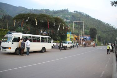 Entre KIgali et Ruhengeri