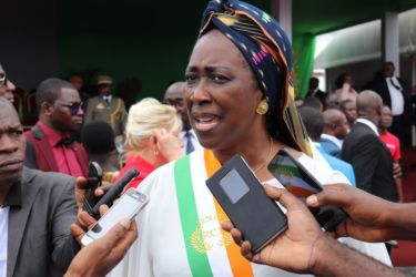 Chantal Fanny, Sénatrice d'Odienné