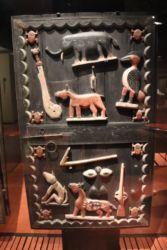 Porte sculptée, Bénin