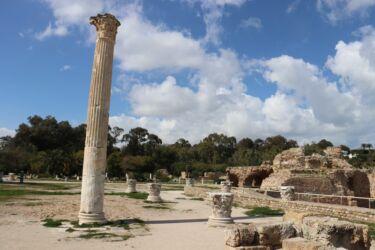 Carthage, les ruines romaines