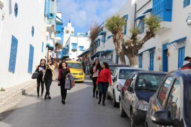 Sidi Bou Saïd, les ruelles bleu et blanc