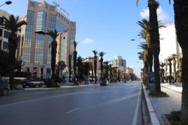 Tunis, Avenue Habib Bourguiba