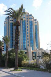 Tunis, les immeubles de verre
