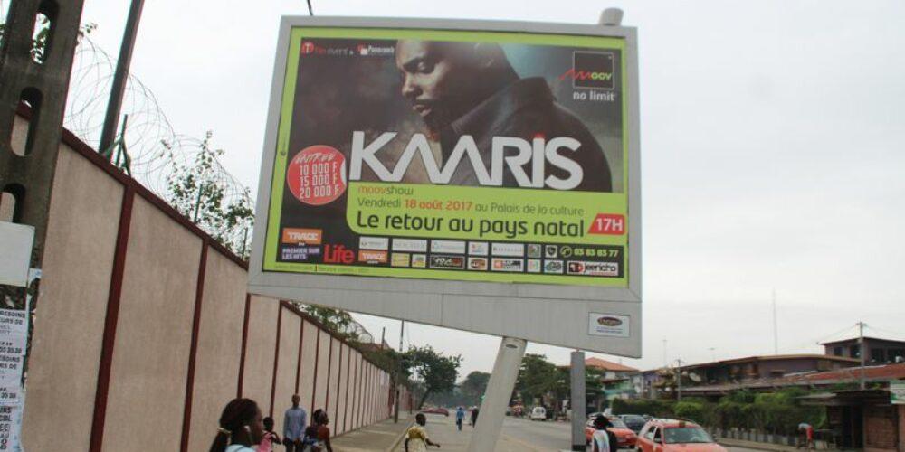 KAARIS A ABIDJAN : RETOUR AU PAYS NATAL